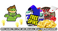 New Casino Free Spins Are Available On All Jumpman Casinos