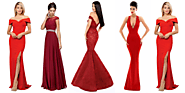 Rock the Party with These Scintillating Red Party Dresses in 2020