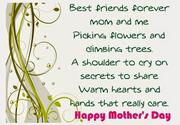 Mothers day printable poems cards