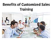 Benefits of Customized Sales Training