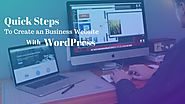 Quick Steps To Create an Business Website With WordPress