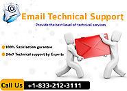 Dial Toll-Free phone number +1-833-212-3111 for Email Tech Support