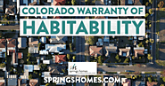 The Colorado Warranty of Habitability