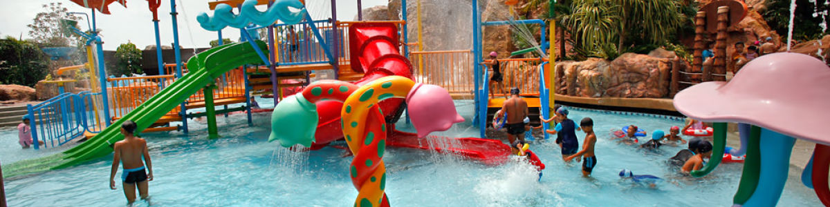 Headline for Best water parks in Bangkok - Cool off in the water world