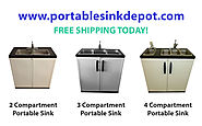 Things You Can Have in Choosing Stainless Steel Sinks – Portable sink depot-1,2,3,4 compartment sink