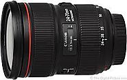 Shop Canon EF 24-70mm f2.8L II USM at Best Price - S World Electronics Canada