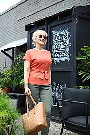 Tie Waist Top Makes Summer Dressing a Cinch! –