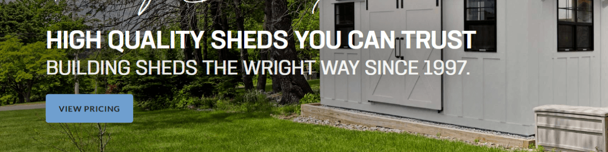 Headline for Wright's Shed Co.
