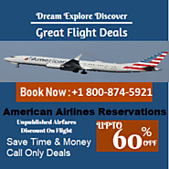 American Airlines Reservations & Book Cheap Flight Deals