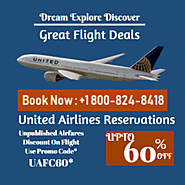 United Airlines Customer Service For Cheap Flight +1-800-824-8418