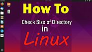 Du Command to get Size of Directory in Linux | CyberPratibha
