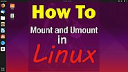Linux Mount And Unmounted Commands | CyberPratibha