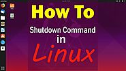 How to Use Shutdown Command in Linux Ubuntu 19.04 | Linux Tutorial