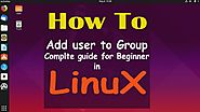 How to Add User to Group in Linux Ubuntu 19.04 | Linux Tutorial