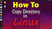 How to copy a directory in Linux by Command| Linux Tutorial