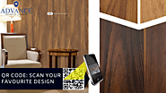 Scan the QR Code and select your design | Advance Decorative Laminates