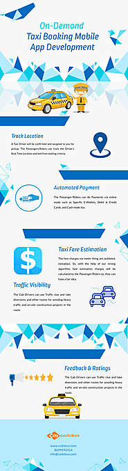 Why Taxi Booking Mobile App Development is on-demand?