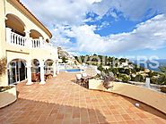 Spectacular villa in the mountains of Altea