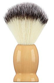 Bassion Hand Crafted 100% Pure Badger Shaving Brush with Hard Wood Handle, Men's Luxury Professional Hair Salon Tool,...