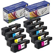 Dell E525W Compatible 2 Sets + Black of 9 Toner Cartridges in 2 Combo – Pan Continent Inc. - PrintOxe