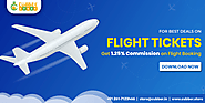 Book Flight Online and get commission at cubber store