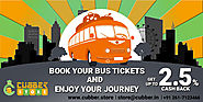 Book Your Bus Ticket and Get Exclusive Cash Back at cubber.store