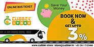 Bus Ticket Booking Online | Cubber.store | Get Upto 3% Cashback
