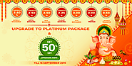 Upgrade to Platinum Package and Get 50% Off on Cubber Store