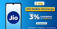 Get Upto 3% Cashback On Every Jio Mobile recharge - Cubber.Store