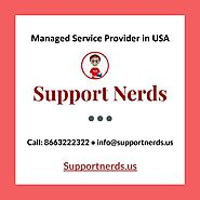 Managed IT End-User Service Provider in USA - SupportNerds
