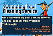 Swimming Pool Cleaning Services @ Waterline Technologies