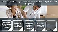 Best Ways to Save Money When Moving