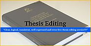 Contact for Best PhD Thesis, Dissertation Editing Services in Chandigarh, India , Delhi