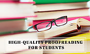 best proofreading for academic students Chandigarh India