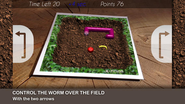 Worm AR - Augmented Reality Game
