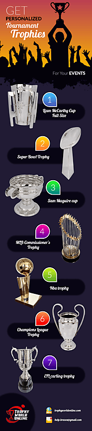 Get Personalized Tournament Trophies For Your Events