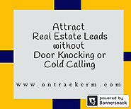 Get Best CRM for Real Estate Leads Generation - onTrack CRM - Real Estate Lead Generation Platform