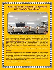 Why You Should Consider Solar Operated LED Lights for Your Home - Redilight