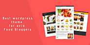 Best wordpress themes for avid Food Bloggers