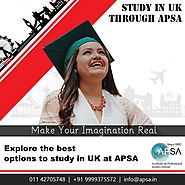 Want to study in UK