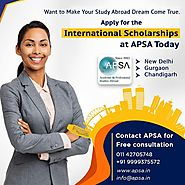 International Scholarship For Indian Students