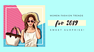 Women Fashion Trends for 2019