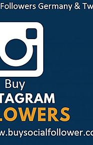 Buy Instagram Followers Germany & Twitter Followers - Fast Delivery - Wattpad