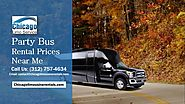 CHICAGO LIMOUSINE RENTALS — Party Bus Rental Prices Near Me