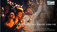 Cheap Party Bus Rental Near Me - Rent a Party Bus Services, Party Buses for Rent