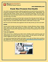 Foods That Promote Oral Health