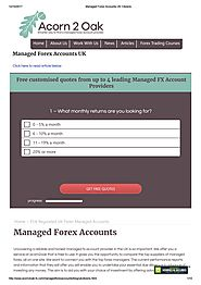 Managed forex accounts uk citizens by Acorn2oak-fx - Issuu