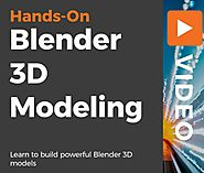 [packtpub] Hands-on Blender 3d Modeling - Online Information