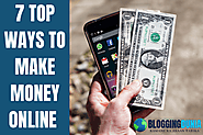 7 Top ways to make money online | Earn from home without investment (Hindi) - Blogging Dunia