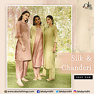 Wholesale Kurtis Online: Silk & Chanderi